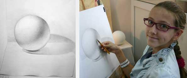 рисунки живопись: