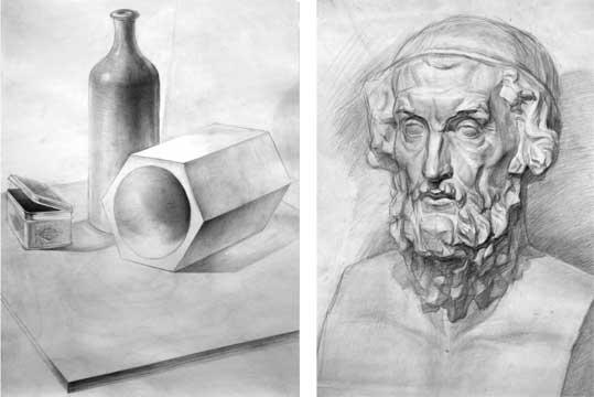 рисунки карандашом не сложные: