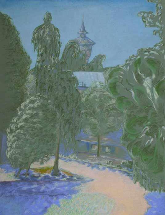"... . Обучение рисованию и живописи ""ЛИСТ: www.list-studio.ru/raboty_slushatelej_pastel_5.html"